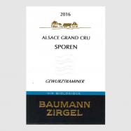 Gewurztraminer Sporen 2016