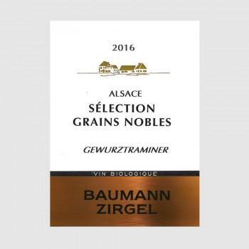 """Gewurztraminer """"Sélection de Grains Nobles"""" 2014 Médaille d'Or"""