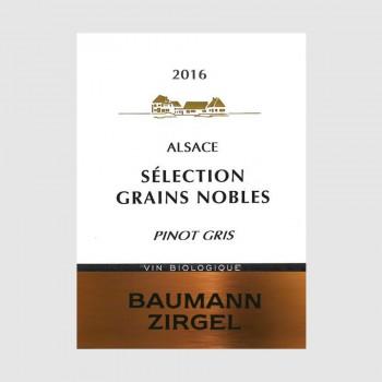 """Pinot Gris """"Sélection de Grains Nobles"""" 2016 Médaille d'Or"""